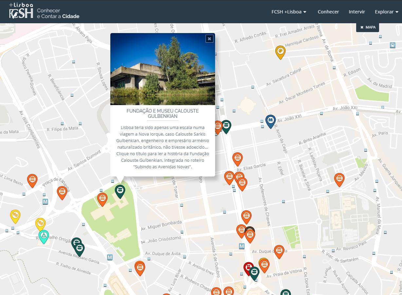 av visconde valmor lisboa mapa Descendo as Avenidas Novas   FCSH+Lisboa av visconde valmor lisboa mapa